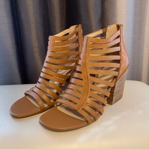 Isola IANNA leather light brown sandals, shoes.
